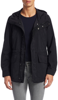 Tom Ford Hooded Solid Cotton Coat