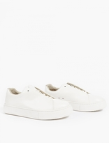 Eytys White Leather Doja Sneakers