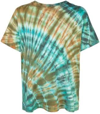 Amiri printed tie-dye T-shirt