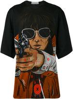 Christopher Kane aim print T-shirt - men - Cotton - M