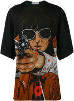 Christopher Kane aim print T-shirt