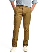 Gap Classic stretch slim fit khakis