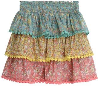 Zimmermann Carnaby Tiered Skirt