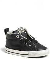 Converse Chuck Taylor ® All Star ® 'CT AS Street' Leather Slip-On Sneaker (Baby, Walker & Toddler)