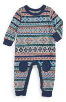 Tea Collection Infant Boy's Gryffe Knee Patch Romper