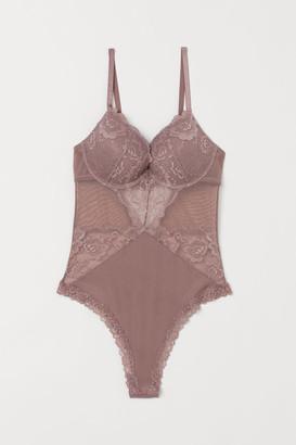 H&M Lace push-up body