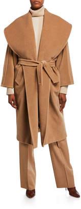 Max Mara Fretty Wide-Collar Coat