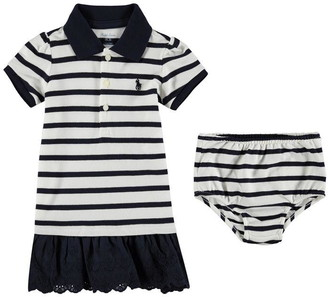 Polo Ralph Lauren Short Sleeve Stripe Dress