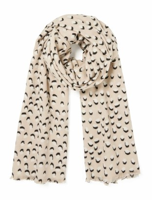 Forever New Eloise Spotty Scarf - Camel - 00