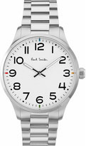 Paul Smith Mens Silver Water Resistant Modern Watch