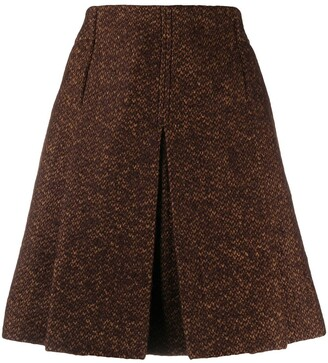 Chloé Tweed Mini Skirt