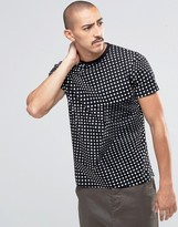 Edwin Factured Dot T-Shirt
