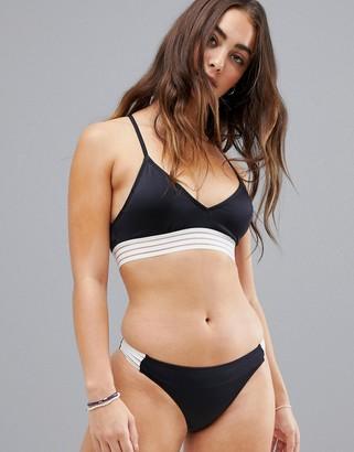 Roxy fitness mod athletic hipster bikini bottom