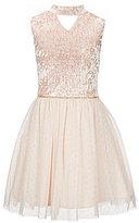 I.N. Girl Big Girls 7-16 Gigi-Neck Tulle Dress