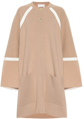 Chloé Oversized wool and cashmere coat