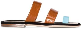 REJINA PYO Larissa two-tone sandals