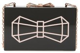 Ted Baker Bowwe Box Clutch - Black