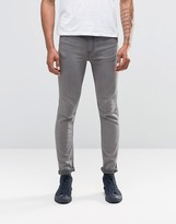 Cheap Monday Jeans Tight Skinny Fit Mid Grey Wash