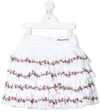 MonnaLisa Digital Print Skirt