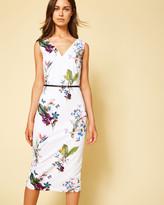 Ted Baker Tropical Oasis midi dress