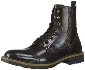 Kenneth Cole Unlisted by Men's Captain Cap Toe Boot Combat