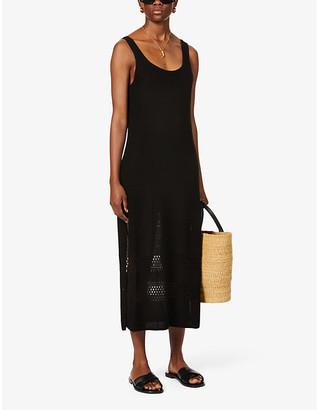 Seafolly Terrain knitted maxi dress
