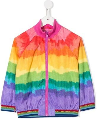 Stella Mccartney Kids Rainbow Bomber Jacket