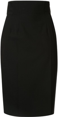 Facetasm pencil skirt