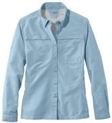 L.L. Bean L.L.Bean Women's Tropicwear Shirt, Long-Sleeve