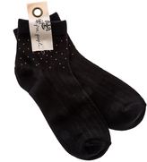 Free People Province Studded Ankle Sock