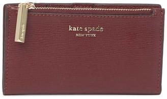 Kate Spade Sylvia Slim Leather Bifold Wallet