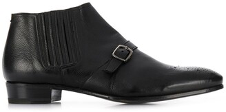 Lidfort 200 Buckled Ankle Boots