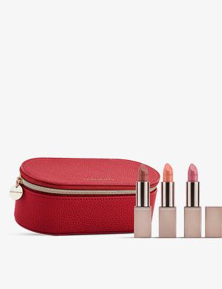 Laura Mercier Pas De Trois Rouge Essentiel Triplet lipstick set