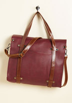 ModCloth Camp Director Tote in Mahogany