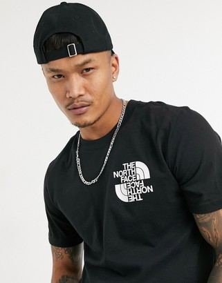 The North Face Double Dome T-shirt in black