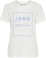 2nd Day Jomo Think Twice Tee - Off White - Size M (UK 12)