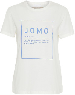 2nd Day Jomo Think Twice Tee - Off White - Size L (UK 14)