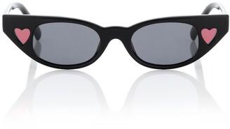 Le Specs x Adam Selman The Heartbreaker sunglasses