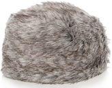Quiz Grey Faux Fur Hat