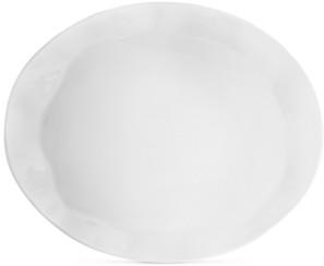"Q Squared Ruffle Melamine 21"" x 17"" Turkey Platter"