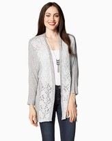 Charming charlie Comfy Lace Cardigan