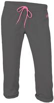 Soffe Gunmetal & Pink Year Round Football Capri Pants