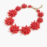 J.Crew Star floral necklace