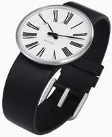 Rosendahl Arne Jacobsen Roman Unisex Watch 43452 with Black Calf Skin Strap (Large)