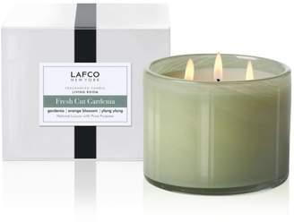 Lafco Inc. Fresh-Cut Gardenia 3-Wick Living Room Candle