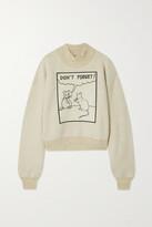 Thumbnail for your product : Loewe + Joe Brainard Appliqued Jersey Turtleneck Sweatshirt