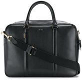 Paul Smith - logo stamp zipped briefcase