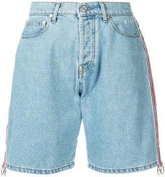 MSGM Bermuda denim shorts