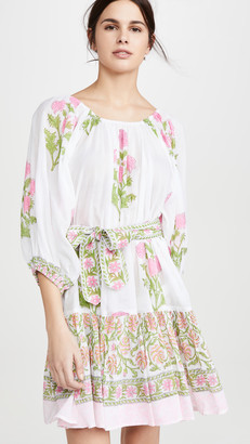 Juliet Dunn Cotton Boho Dress