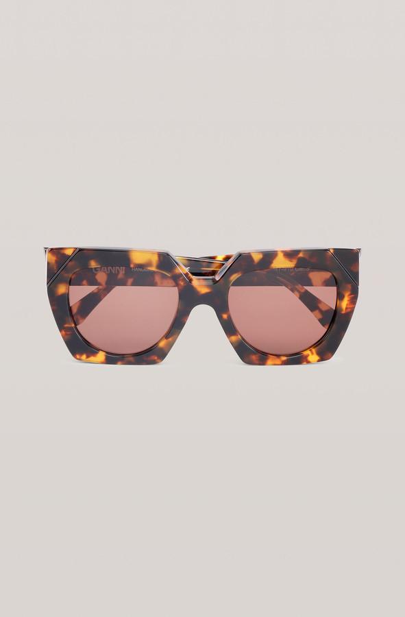 Ganni Biodegradable Oversized Sunglasses